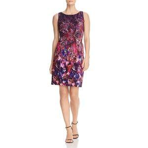 Womens Ulla Velvet Printed Mini Casual Dress